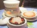 椰青黑豆炖雪蛤膏